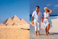 Pyramids and Beaches Travel Package